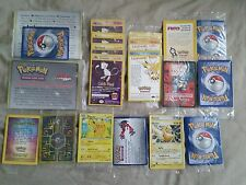 HUGE SEALED LOT.Pokemon Movie,Black star promo,Ancient Mew,legendary birds.13