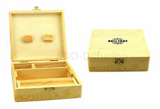 Boîte de rangement bois - Roll Tray XL pour Feuilles Slim Briquet Grinder Tips