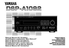 Yamaha DSP-A2070 Amplifier Owners Manual