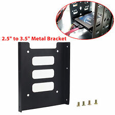 """2.5"""" SSD HDD To 3.5"""" Mounting Adapter Bracket Tray Dock for PC SSD Holder ATX"""