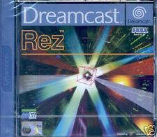 REZ Dreamcast NEW PAL EU UK Still Sealed Never played! Unopened! AU