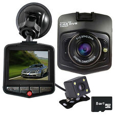 Car DVR GT300 1080P DVRs Dual Cameras Video Recorder + Backup Rearview Camera