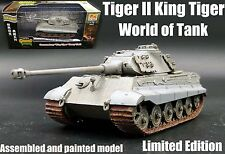 WWII German King Tiger II Tank of world limited edition 1:72 diecast Easy Model