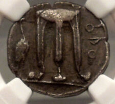 KROTON in BRUTTIUM 480BC Silver Stater NGC Certified Ch XF Greek Coin i53836