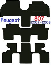 Peugeot 807 Tailored Deluxe Quality Car Mats 2002-2010