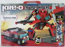 KRE-O Kreo 2in1 transformers Sentinel Prime 386 PIECES + 4 KREONS Age 8 +