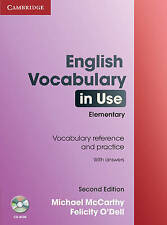English Vocabulary in Use Elementary with Answers and CD-ROM by Michael...
