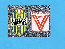 PANINI CALCIATORI 2005-2006- Figurina n.652- VERONA+VICENZA -SCUDETTO-NEW