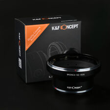 K&F Concept Bronica SQ Lens For Canon EOS 5D 5DII 550D 450D 600D 60D Adapter