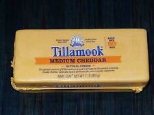 2 lb Tillamook Cheese Medium Cheddar  Fresh from Oregon!! Never Frozen!