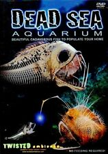 DEAD SEA AQUARIUM by TWISTED AMBIENCE: VIRTUAL HALLOWEEN HAUNTED FISH TANK DVD!!