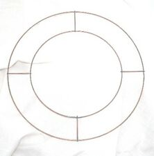 "10 x 8"" WIRE RINGS FOR WREATHS CHRISTMAS XMAS MEMORIAL"