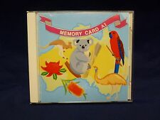 AUSTRALIA SERIES #A1 Memory Embroidery Card JANOME FAST SHIP Australian Aussie