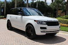 Land Rover : Range Rover Rage Rover