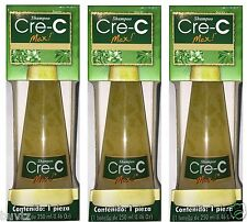 3 Packs Cre-C Max Shampoo Hair Loss 8.46 Oz / Contra La Caida Del Cabello 250 ml