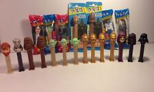 Star Wars Pez Dispensers Lot Of 21 7 New & 14 Loose Toys Collectibles Candy