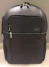 NEW Tumi Leather Ballistic Nylon Collett Backpack Brief Travel Luggage #30380