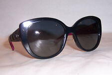 NEW CHRISTIAN DIOR LADY 1/R/S HZ9-HD BLACK/GRAY SUNGLASSES AUTHENTIC