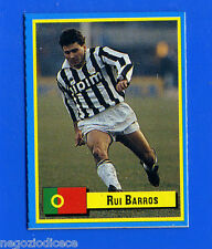 TOP MICRO CARDS - Vallardi 1989 - Figurina-Sticker - BARROS - JUVENTUS