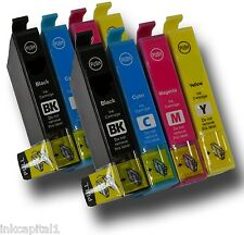 8 x Ink Cartridges ( 2 Sets ) Non-OEM Alternative For Epson - XP412, XP 412