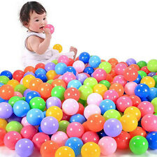 50pcs  Swim Safty Secure Baby Kid Pit Toys Colorful Soft Plastic Ocean Ball