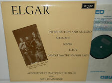 ZRG 573 Elgar Intro And Allegro For String Orchestra And Quartet ASMF Marriner