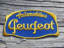 ECUSSON PATCH THERMOCOLLANT aufnaher toppa PEUGEOT voiture automobile moto 203