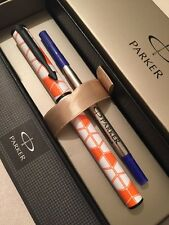 NEW PARKER BETA SPECIAL EDITION ROLLERBALL PEN-BLUE INK-GIFT BOX
