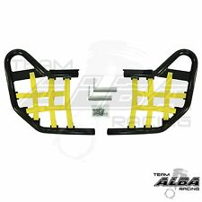 Yamaha Raptor 250 125  Nerf Bars  Alba Racing  Black bar Yellow net    192 T1 BY