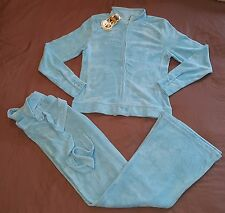Juicy Couture terry tracksuit set with top and pants size XS P