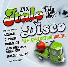CD ZYX Italo Disco New Generation Vol.10 von Various Artists  2CDs