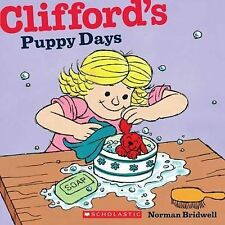 CLIFFORD'S PUPPY DAYS Children Reading Picture Story Book by Norman Bridwell NEW