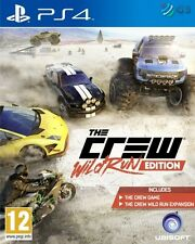 The Crew Wild Run Edition PS4 * NEW SEALED PAL *
