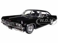 1965 CHEVROLET IMPALA BLACK LOW RIDER 1/24 BY WELLY 22417