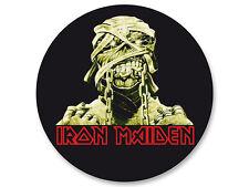 Porte clé Keychain Ø45mm Iron Maiden Heavy Metal UK