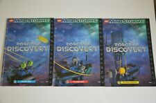 Lot 3 Lego MindStorms Robotic Discovery Manuals Instructions 9735 The Bug Book +