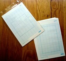 Grid Paper for All 30-stitch Pattern Punch Card Knitting machine