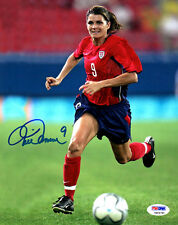 Mia Hamm SIGNED 8x10 Photo Soccer Legend ITP PSA/DNA AUTOGRAPHED