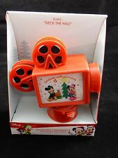 Disney Mickey & Minnie Reel to Reel Movie Projector Tabletop Decor NEW