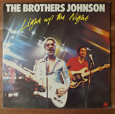"Single 7"" Vinyl The Brothers Johnson - Light up the Night TOP!"