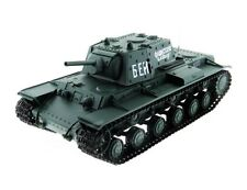 1:16 Soviet KV-1 RC Battle Tank With Smoke & Sound 2.4GHz Remote Control New