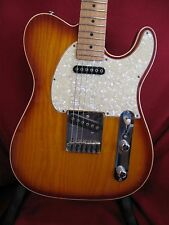 1994 Cherry Sunburst G&L ASAT Classic Guitar with binding Birdseye neck