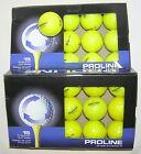 30 Bridgestone Golf e6 Yellow golf balls Mint AAAAA condition