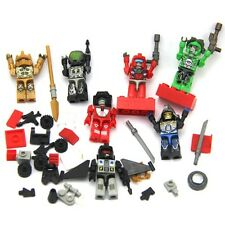 Lot 7 New TRANSFORMERS AUTOBOT RACHET KRE-O KREON Building Figure Toys