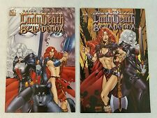 LADY DEATH BELLADONNA #1 & #1C AVATAR COMICS 2005