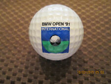 PING GOLF BALL/S-GREEN/WHITE PING #3...8.8/10...1991 BMW INTERNATIONAL LOGO...