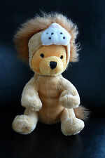 82/ DOUDOU WINNIE - DEGUISE EN LION - DISNEY - 18 CMS - EXCELLENT ETAT !
