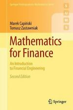 Mathematics for Finance : An Introduction to Financial Engineering. 2nd Edition.