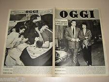OGGI=1954/45=JOSEPHINE BAKER MILANDES=RENZO RICCI=GIULIO VIOZZI=EMILIO GRECO