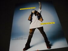 CHRIS BROWN not everyone...is going to like me 2014 Photo Image PROMO DISPLAY AD